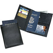 Buxton® Leather Passport Wallet