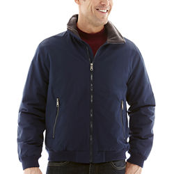 St. Johns Bay Mens Storm Guard Nylon Jacket in Four Colors