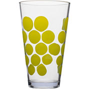 Zak Designs® Dot Set of 6 19-oz. Highball Tumblers