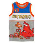 Disney Apparel by Okie Dokie® Finding Dory Tank Top- Toddler Boys 2t-5t