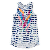 Arizona Tie-Back Tank Top - Girls 7-16 and Plus