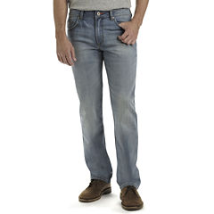 Lee® COOLMAX® Denim Straight-Leg Jeans