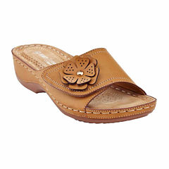 Henry Ferrera Comfort-1 Womens Slide Sandals
