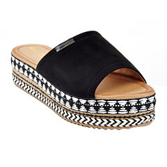 Henry Ferrera Ty-A6 Womens Slide Sandals