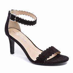 Andrew Geller Una Womens Heeled Sandals