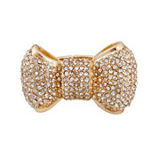 Mixit™ Gold-Tone Bow Stretch Ring
