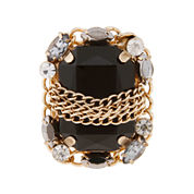Mixit™ Gold Stretch with Stone Ring