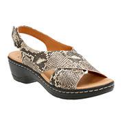 Clarks® Hayla Heaven Strap Sandals