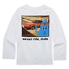 Okie Dokie® Long-Sleeve Graphic Tee - Preschool Boys 4-7