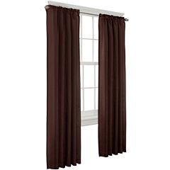 Toronto Lined Back-Tab Curtain Panel
