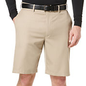 PGA TOUR® Expandable Waist Flat-Front Shorts