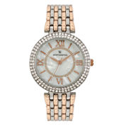 Worthington Womens Two Tone Bracelet Watch-Wt00028-03
