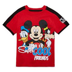 Disney By Okie Dokie Mickey and Friends Graphic T-Shirt-Preschool Boys