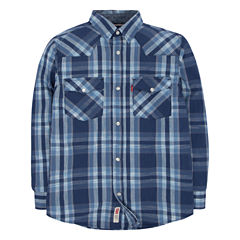 Levi's Long Sleeve Button-Front Shirt Boys 8-20