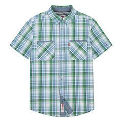 Levi's Freeform Short Sleeve Button-Front Shirt Boys