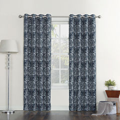 Sun Zero Stanford Blackout Grommet-Top Curtain Panel