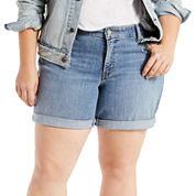 Levi's Denim Shorts-Plus
