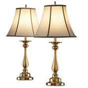 JCPenney Home™ Set of 2 Hennessey Antique Brass Table Lamps