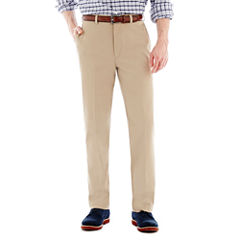 Savane® Eco Start® Flat-Front Twill Pants