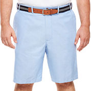 IZOD® Oxford Flat-Front Shorts - Big & Tall