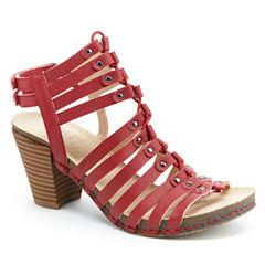 J Sport By Jambu Sugar Womens Heeled Sandals