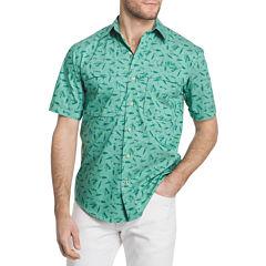 IZOD Saltwater Surfcaster Button-Front Shirt