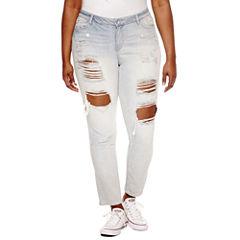 Rewash Skinny Jeans-Juniors Plus
