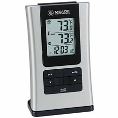 Meade Instruments TE109NL-M Personal Weather Station with Inside/Outside Thermometer and Quartz Clock