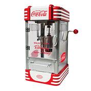 Nostalgia RKP630COKE Coca-Cola 2.5-Ounce Kettle Popcorn Popper