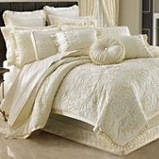 Queen Street® Maddison 4-pc. Jacquard Comforter Set & Accessories