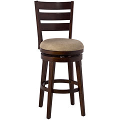 Marion Swivel Barstool with Back