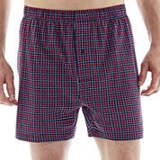 Stafford® Plaid Knit Cotton Boxers