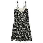 Arizona Sleeveless Floral Peasant Dress - Girls 7-16