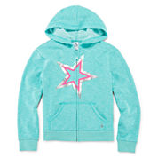 Xersion™ Long-Sleeve Zip Hoodie - Girls 7-20 and Plus