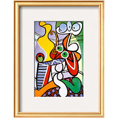 Art.com Nude and Still Life, c.1931 Framed Print Wall Art