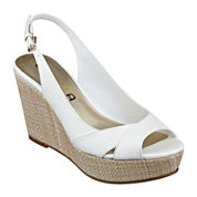 Unisa® Oalla Slingback Wedge Sandals