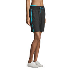 Made For Life Woven Bermuda Shorts-Talls