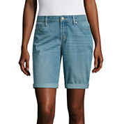 a.n.a Denim Bermuda Shorts-Talls