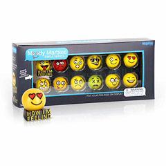MegaFun USA Moody Marbles Emoji Set - Series 1