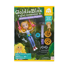GoldieBlox GoldieBlox Girl Inventor - Zipline Action Figure