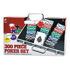 Cardinal 300 Piece Poker Set in Aluminum CarryingCase