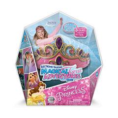 Wonder Forge Disney Princess Electronic Talking Magical Tiara Adventures Game