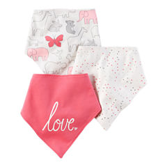Carter's Girls 3 Pair Bib