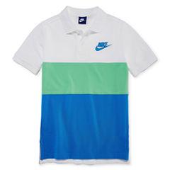 Nike Short Sleeve Polo Shirt - Big Kid Boys