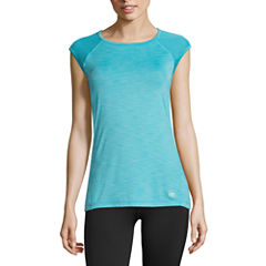 Tapout Short Sleeve Round Neck T-Shirt-Womens