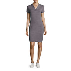 Made For Life Short Sleeve Sheath Dress