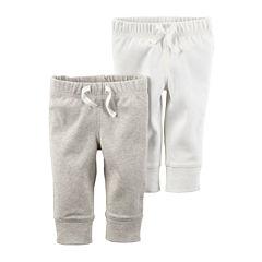 Carter's® 2-pk. Ivory Pants - Babies newborn-24m