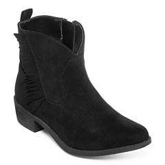 Arizona Booker Girls Fringe Booties - Little Kids