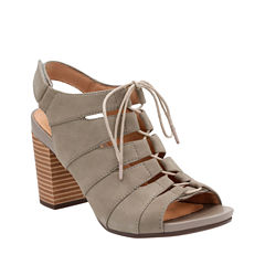 Clarks of England Banoy Waneta Womens Heeled Sandals