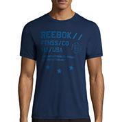 Reebok® Workout Ready Short-Sleeve Supremium Graphic Tee